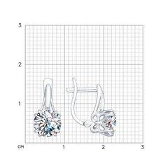 94022291 - Серьги из серебра с фианитами от SOKOLOV