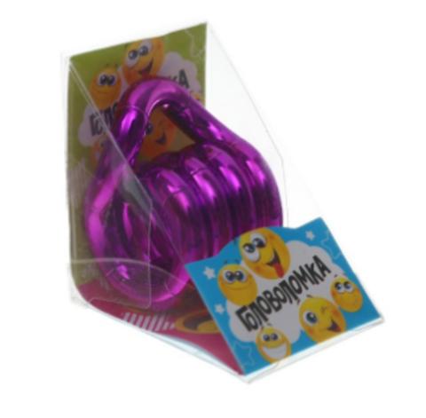 070-7997 Головоломка «Изгиб», цвет фиолетовый