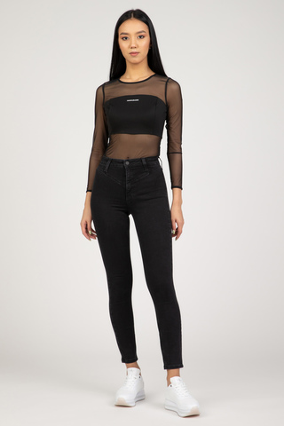Женское боди Calvin Klein MILANO MESH STRETCH BODY