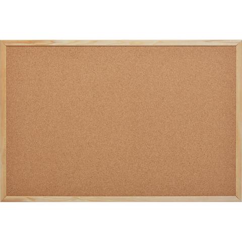 Доска пробковая 60х90 Attache Economy деревянная рама