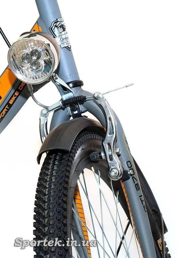 Formula Smart - жесткая вилка,фонарь, переднее колесо