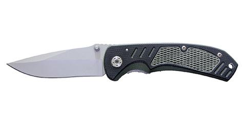 Нож Stinger, 85 мм, зелено-черный