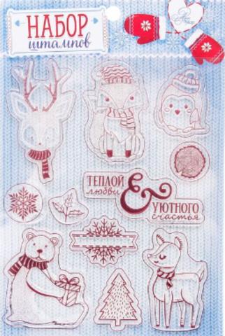 066-9597 Штамп для творчества в наборе «Уютного счастья», 14 × 18 см