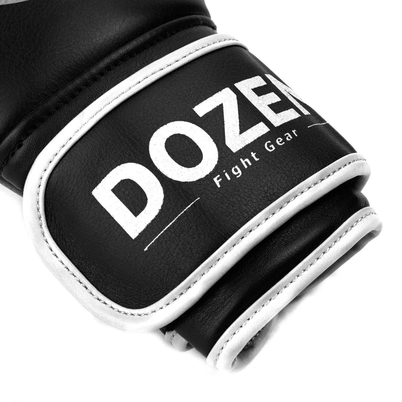Перчатки Dozen Monochrome Black/White манжет