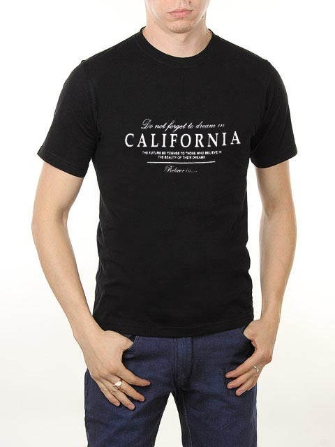461493-16 футболка мужская, черная