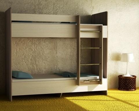 Кровать ДАЙСЕН-1600-0800 /1632*1604*952/ правая