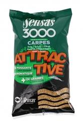 Прикормка Sensas 3000 ATTRACTIVE Carp 1кг