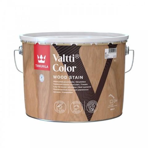 Tikkurila Valtti Color/Тиккурила Валтти Колор колеруемая фасадная лазурь на масляной основе
