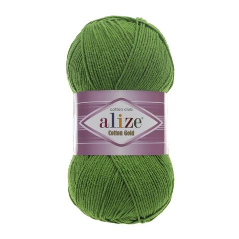 Пряжа Alize Cotton Gold трава 126