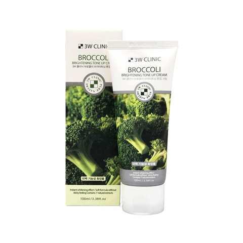 Крем для лица БРОККОЛИ/ОСВЕТЛЕНИЕ Broccoli Tone UP, 100 мл, 3W CLINIC