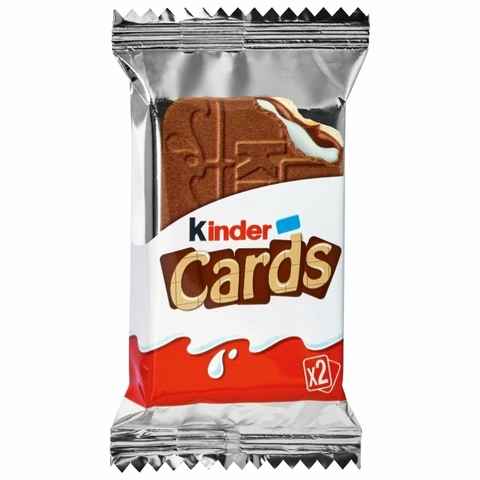 Kinder cards 25,6 гр