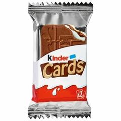 Kinder cards 25,6 гр