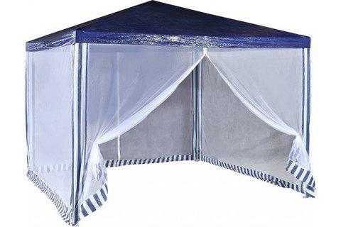 Садовый тент шатер Green Glade 1033 синий 3*3м