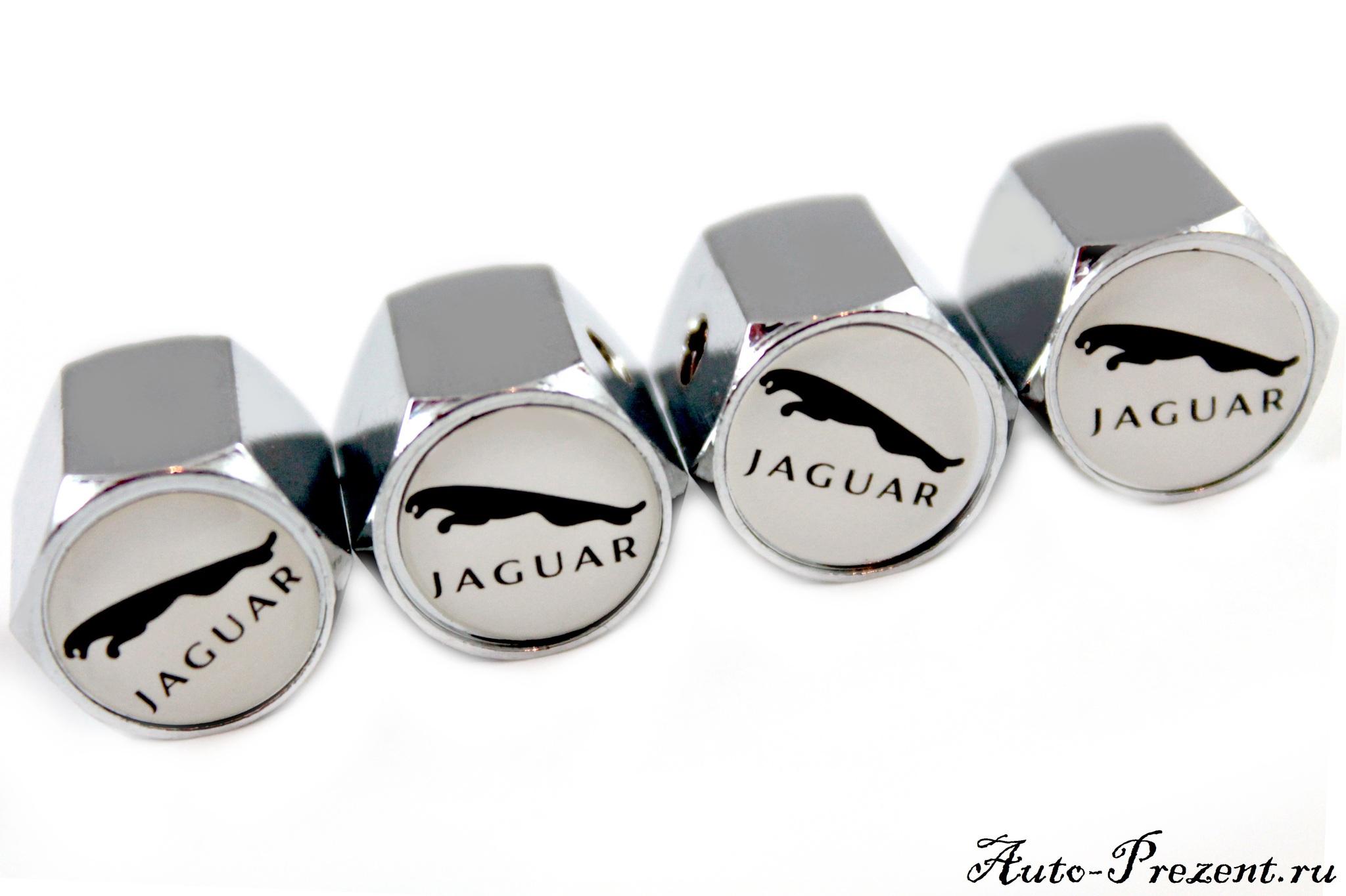 Колпачки на ниппель JAGUAR с защитой от кражи