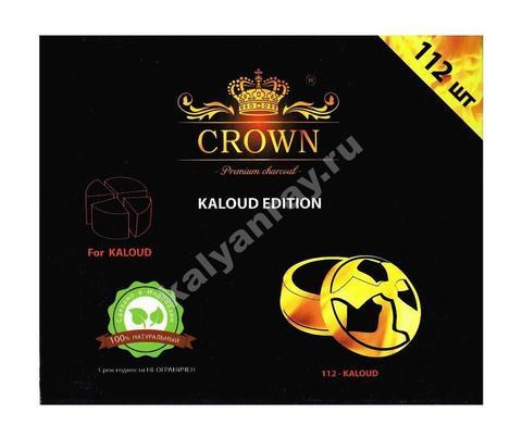 Уголь для кальяна Crown Kaloud Edition 112 кубиков