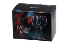 Набор бокалов для вина «Оливия», 240 мл, фото 1