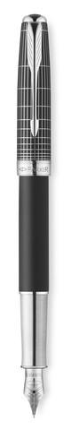 Перьевая ручка Sonnet Special Edition Contort Black Cisele
