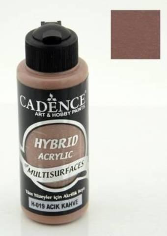 №19 Hybrid Acrylic, Светлый кофе, 70мл., Cadence