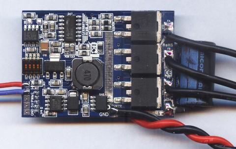 ESC-регулятор GermanyAerolab на шине PWM/CAN 55А 4-8S