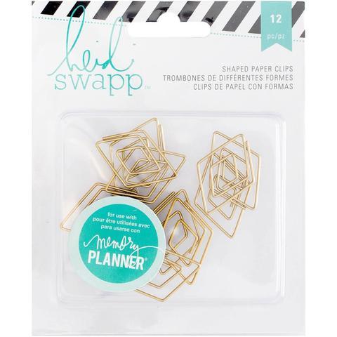 Скрепка Heidi Swapp Memory Planner Paper Clips, золото, 1 шт