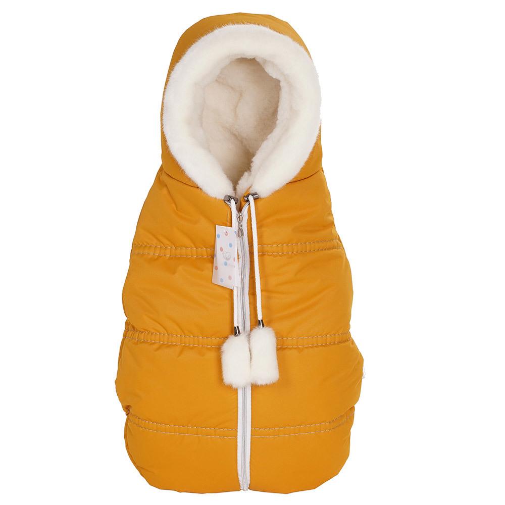 Конверты для колясок Lollycottons Конверт кокон для новорожденных Lollycottons медовый Конверт-КОКОН--Lolly-cotons---MAXI-SAVE_-медовый-1.jpg