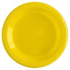 S Тарелки пластиковые 15 см