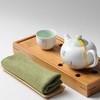 Чайное полотенце с подставкой