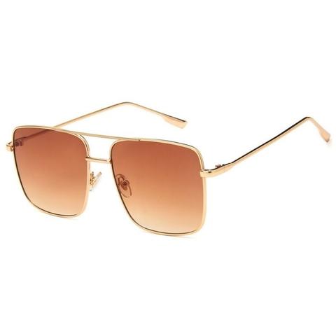 Солнцезащитные очки 1825001s Коричневый