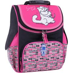 Рюкзак школьный каркасный Bagland Успех 12 л. Черный 364 (00551702)