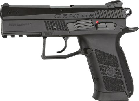 Пистолет пневматический ASG CZ-75 P-07 DUTY  металл/черный (артикул 16726)