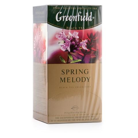 """Чай фруктовый """"Greenfield"""" Spring Melody 25*1,5 г"""