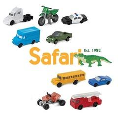 Набор фигурок для сенсорной коробки Транспорт, Safari Ltd.
