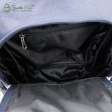 Сумка Саломея 502 синий флотер (рюкзак)