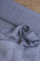 Лён смягченный - джинс меланж