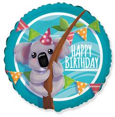 F Круг, С Днем Рождения! (милая коала), 18