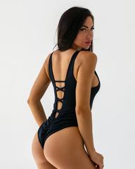 Купальник слитный Nebbia One-colour monokini 560 black