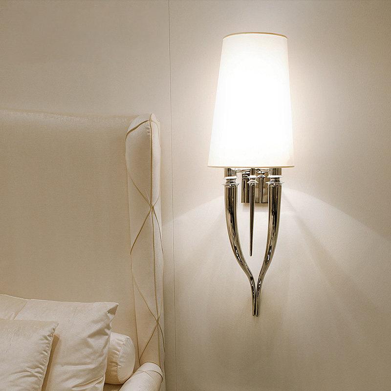 Настенный светильник копия Brunilde by Ipe Cavalli H92 (белый)
