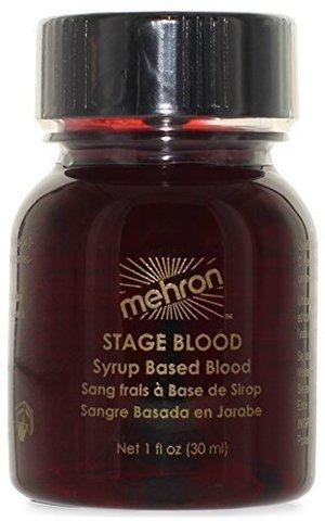 MEHRON Кровь искусственная Bright Arterial 1 oz. (артериальная), 30 мл