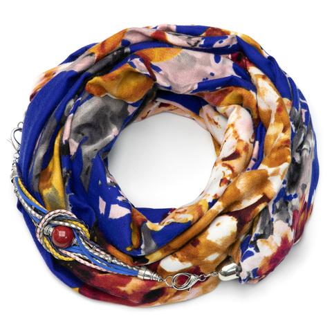 Кашемировый шарф-снуд