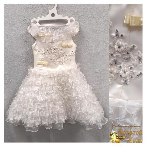 Платье на корсете девочке (4-6) 201204-ТР7753
