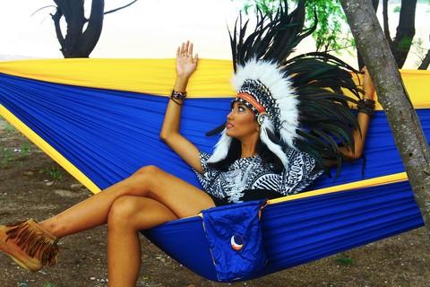 Индейские забавы в гамаке.