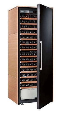 Винный шкаф EuroCave D Collection L светлое дерево, сплошная дверь, максимальная комплектация