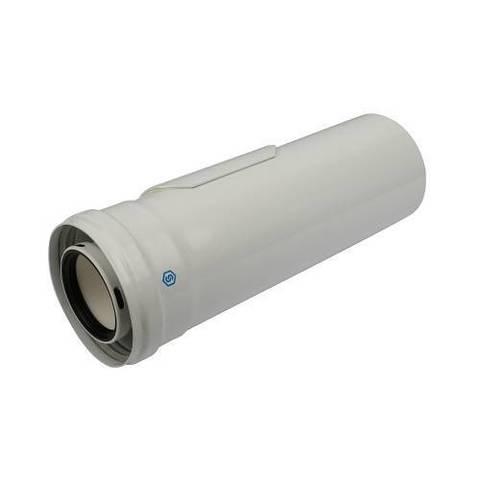 Труба с ревизией для коаксиального дымохода STOUT D60/100 мм (для конденсационного котла)