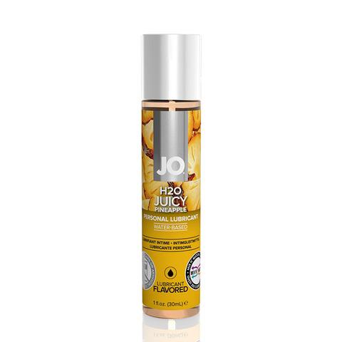 JO H2O Flavored Juicy Pineapple, 30 ml Ароматизированный лубрикант Ананас на водной основе