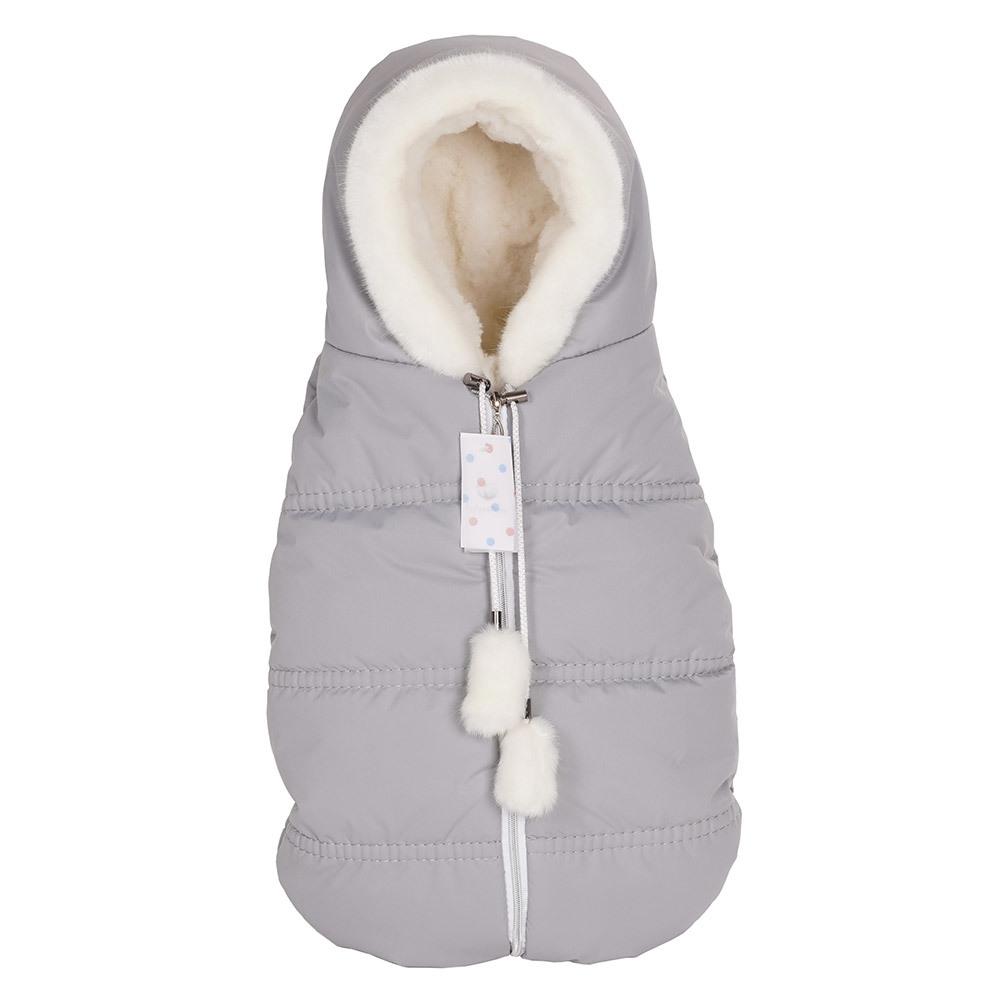 Конверты Lollycottons Конверт кокон для новорожденных Lollycottons серый Конверт-КОКОН--Lolly-cotons---MAXI-SAVE_-серый-1.jpg