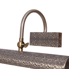 INL-6095W-02 Antique brass & Walnut