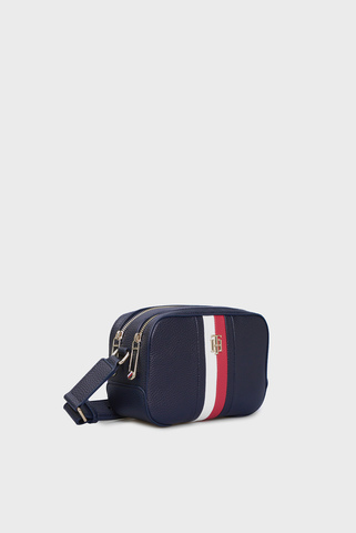 Женская темно-синяя сумка ESSENCE CAMERA CORP Tommy Hilfiger