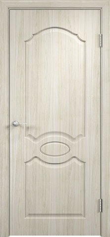 Дверь Верда Афина, цвет беленый дуб мелинга, глухая