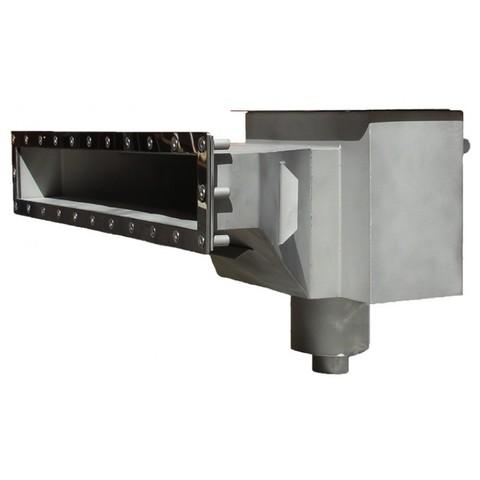 Скиммер нержавеющая сталь AISI-304 с камерой долива и расширенной горловиной под пленку XENOZONE