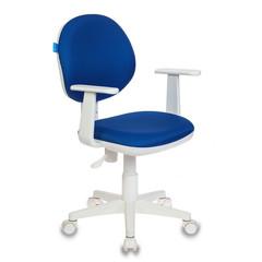 Кресло детское Бюрократ CH-W356 (ткань синяя)